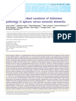 Clinically concordant variations of Alzheimer pathology in aphasic versus amnestic dementia.pdf