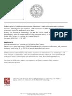 Redescription of Hapalotrema mistroides (Monticelli, 1896) and Hapalotrema synorchi