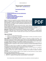 Resumen Derecho Administrativo Trabajo