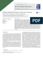 Biodegradation of PLA