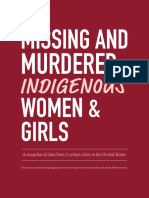 Missing and Murdered Indigenous Women and Girls Report