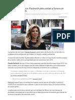 02-01-2019 Abrazos No Balazos Pavlovich Pide Unidad a Sonora en Gobierno de AMLO - La Neta Noticias