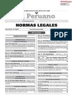 Normas Legales. Lima, Editora Peru, 2019.
