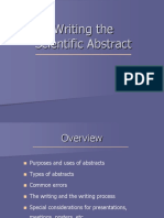 Introduction to Writing Scientific Abstract_41464