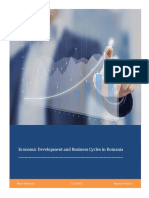 Business Cycles in Romania PAper