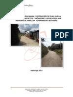 Informe Hidrologico Placa Huella Rosaflorida Sur