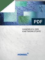 Handbuch Der Knetwerkstoffe