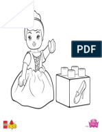 DUPLO Colouring Pages 2016 Cinderella