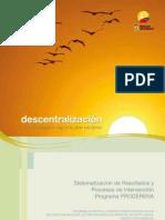 PRODERENA_Descentralizacion
