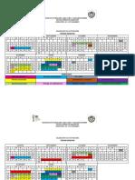Calendario de Actividades Por Semestre - Copia
