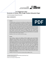 Evaluasi Perubahan Penggunaan Lahan