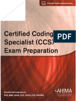 Certified Coding Specialist CCS Exam Preparation OCR