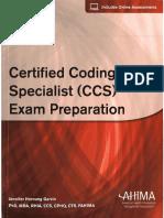 Certified Coding Specialist CCS Exam Preparation OCR