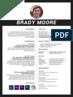 brady moore adobe resume