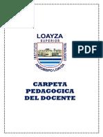Carpeta Pedagogica Silabo 2019