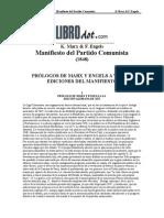 Marx Karl Engels F - Manifiesto Comunista
