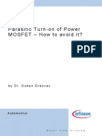 Parasitic Turn-On of Power MOSFET
