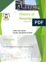 Moquegua, Basic Information
