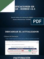 004 2 Sismed23 Modificaciones Facturacion