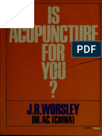 Is Acupuncture for You