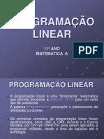 Exemplo Programacao Linear