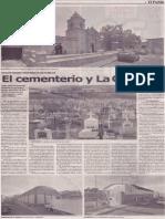 El cementerio y La Chavela