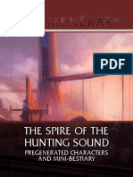 The Spire of the Hunting Sound Characters and Mini Bestiary 2017-06-02 5c4b4020402a6