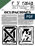 Revista Amor y Rabia Nr. 7 (20.04.1996)