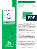 Class 3 IMO 2014 Level 2 Paper