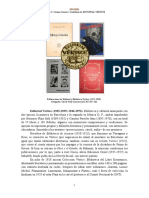 Editorial Vertice 1925 1939 1946 1972 Semblanza