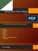 Interpretasi Foto Tulang