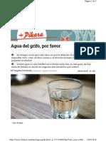 Agua del grifo, por favor (Pikara Magazine, 20-03-18)