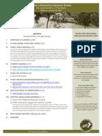 PRAB Agenda Jan 2019. Scribd
