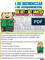 SpanishSequenceReadingFreeset3Storiesand3ComprehensionSheets