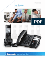 Panasonic Sip Cordless Main Brochure