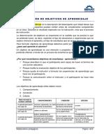 RedaccionObjetivosAprendizaje01