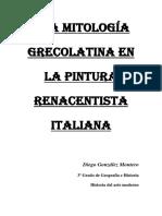 La mitología grecolatina en la pintura renacentista italiana