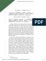 PNB vs. Santos ESCRA