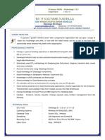 Gvskumar Resume 2018