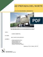 Quinto Informe de Quimica Ambiental