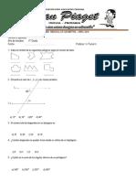 Examen Mensual de Geometría 4