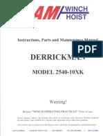 DERRICKMAN 2540-10XK