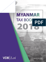 Myanmar Tax Booklet 2018