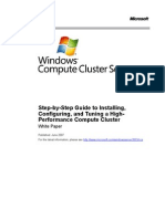 Compute Cluster Deployment Guide