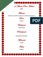 Tarea 2 de Fundamentos Filosoficos e Historicos de La Educacion Dominicana Wendy