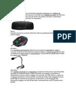 Dispositivos de Entrada y Salida Tipos de Procesadores, Tipos de Computadoras