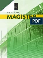 Brosur Magister S2 2018
