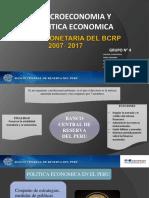 CAPÍTULO I Politica Monetaria