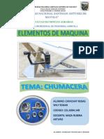 Informe de Elementos de Maquina