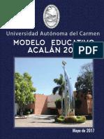 Modelo Ed Acalan2017